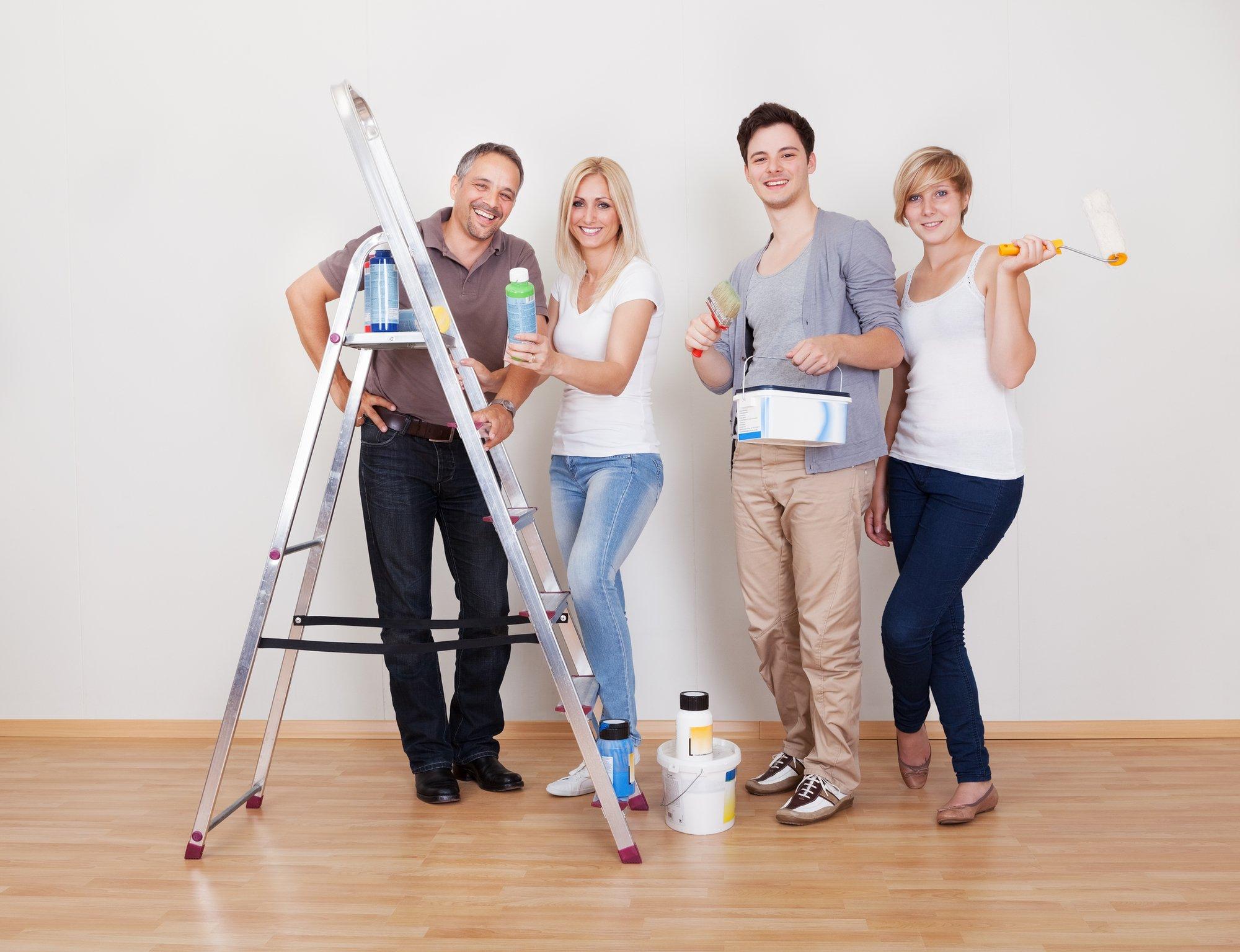 Home maintenance repair team
