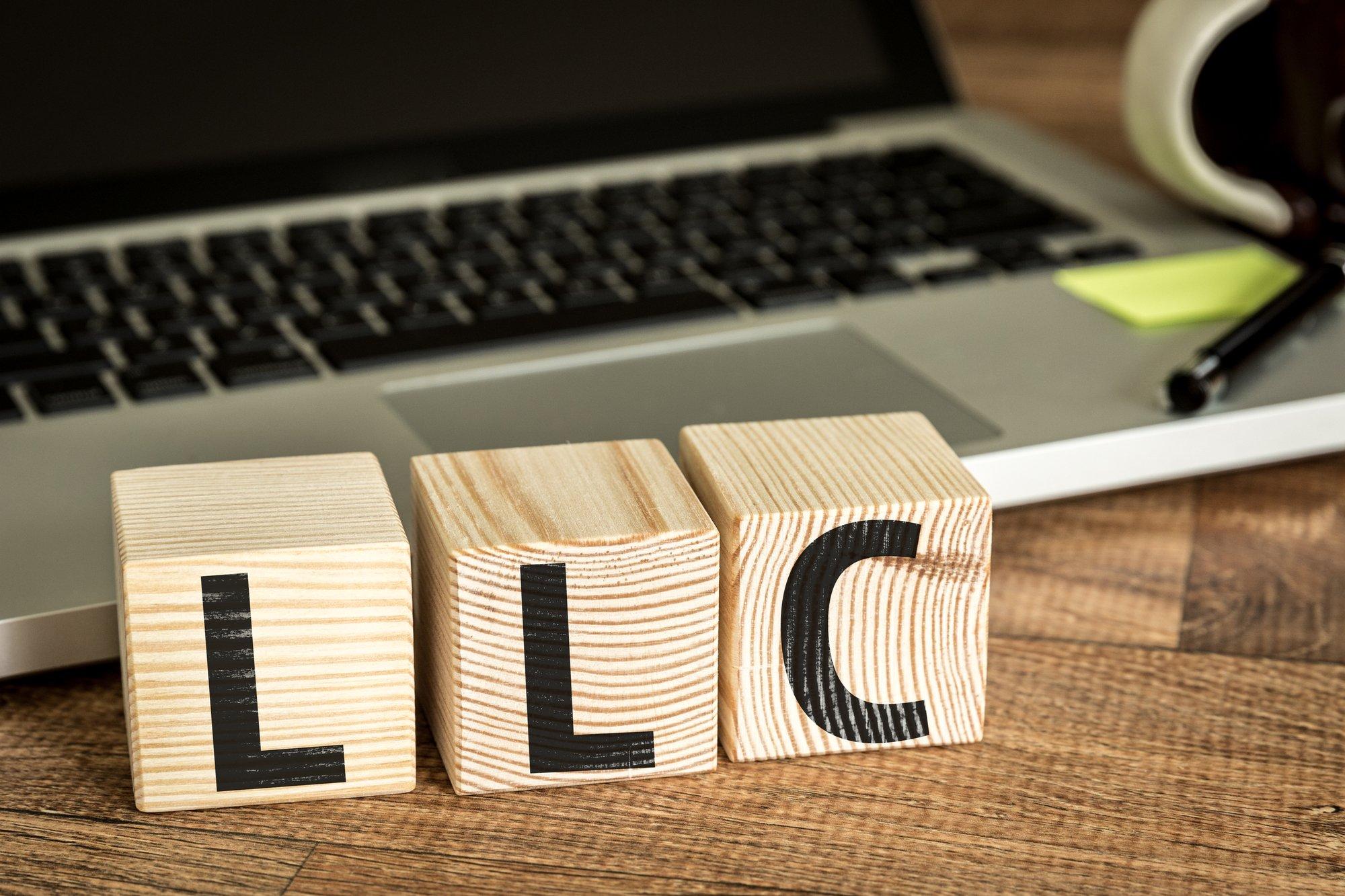 LLC written on cubes-1