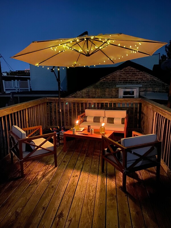 Property management Baltimore beautiful patio